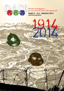 La copertina di DADI ESAGONALI n.4